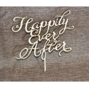 """Топпер """"Happily ever after"""" (ширина 15 см)"""