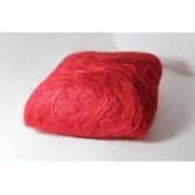 Сизалевое волокно (100гр), красное