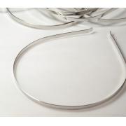 Заготовка для ободка металл 7мм под серебро (1шт.)