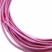 Канитель мягкая 1мм Baby pink matte 090 (5грамм)
