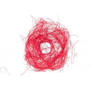 Каркас для букета(ротанг), красный, d=20см