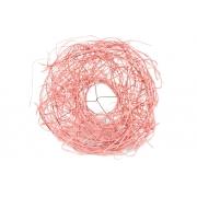 Каркас для букета(ротанг), светло-розовый, d=20см
