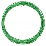 Проволока для плетения 1 мм  зеленый SF-904, 10 метров