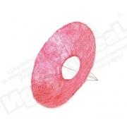 Каркас для букета (сизаль), фуксия, d=30см