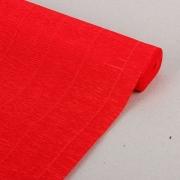 Гофрированная бумага 140г/м2 №980 0.5х2.5м Красная (Италия)