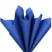 Тишью бумага 50х66см Синяя (2 листа)