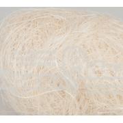Сизалевое волокно (100гр), отбеленное