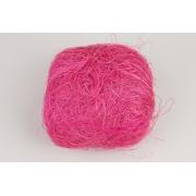 Сизалевое волокно (100гр), цикламен