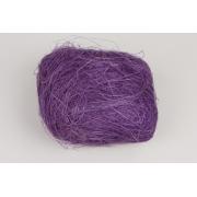 Сизаль (сизалевое волокно) 100гр, ярко-фиолетовый