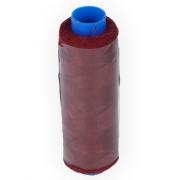 """Швейные нитки (полиэстер) 40/2 """"Gamma"""" 200 я  183 м цвет №124 т.бордовый"""