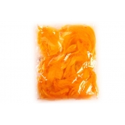 Перья 9см 12гр желтые (пачка)