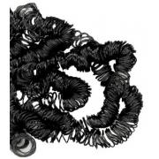 Волосы для кукол кудрявые (70 г) черный