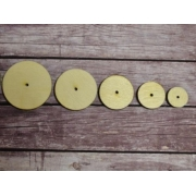 Диски из оргалита 25 мм (10 шт.)