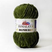 Пряжа плюшевая Himalaya dolphin baby (100г.) 80361