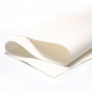 Фоамиран шелковый 0,5 мм 50х50см белый