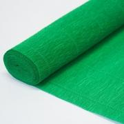 Гофрированная бумага 140г/м2 №963 0.5х2.5м Зеленая (Италия)