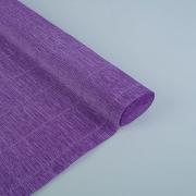 Гофрированная бумага №17е/2 0.5х2.5м ярко-фиолетовая