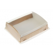Коробка с прозрачным куполом 18.5х14х5.5см