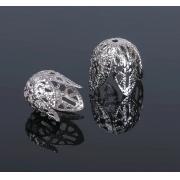 Шапочки для бусин СМ-051-1 (10шт) под серебро