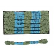 """Пакет крафт """"Снежинки синие"""" 32х32х12 см"""