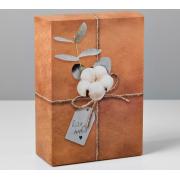 Коробка складная «Для тебя», 16х23×7.5 см