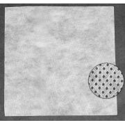 Канва водорастворимая, 20×20 см, цвет белый