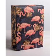 Коробка складная «Фламинго», 16х23×7,5 см