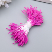 """Тычинки """"Пушистые розовые"""" длина 6 см (набор 170 шт)"""