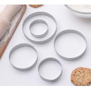 Набор форм для вырезания печенья «Круг», 5 шт