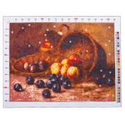 Канва для вышивания с рисунком «Гирв Альфред Александрович. Персики и сливы»,  28х37 см