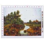 Канва для вышивания с рисунком «Фёдоров. Пейзаж»,  28х37 см