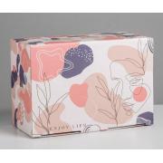 Коробка складная «Силуэт», 22х15х10 см