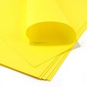 Фоамиран зефирный 1мм 50х50см желтый