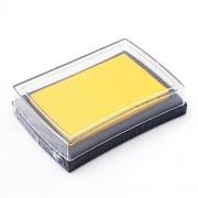 Штемпельная подушка Желтая