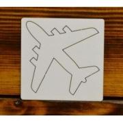 """Вырубка """"Самолет"""" 7х7 см"""