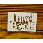 "Вырубка ""Travel book"" 5х3.7см"