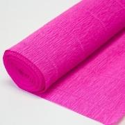 Гофрированная бумага №570 0.5х2.5м светло-малиновая
