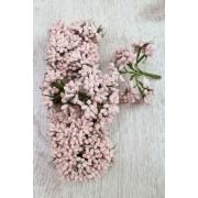 Декоративный букетик 9 см нежно-розовый, 12 шт