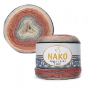 Пряжа Nako Angora luks color (150г.) 81913