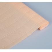 Гофрированная бумага 180г/м2 №17a/5 0.5х2.5м Персиковая (Италия)
