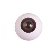 Глазки пластик TR-20 20 мм коричневый (пара)