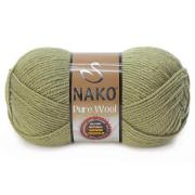 Пряжа Nako Pure wool (100 г) 268