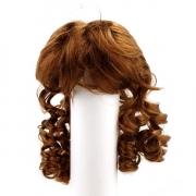Волосы для кукол локоны П80, коричневые