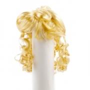 Волосы для кукол локоны П80, блонд