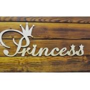 "Слово ""Princess"" (длина 40см)"