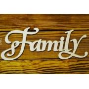"""Слово """"Family"""" (длина 40см)"""