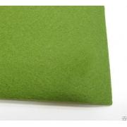 Фетр Китай жесткий 30х21 см 1мм фисташковый 048 (1 лист)