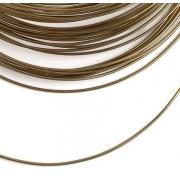 Проволока для плетения 1 мм золотисто-коричневый SF-904,10 метров