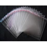Пакет прозрачный с клеевым клапаном 10х10см (50шт.)