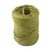 Рафия синтетическая 3 м Оливковая